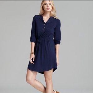 Lilly Pulitzer Beckett Navy Jersey Shirt Dress